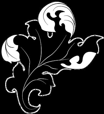 Scrollwork Leaf Desviado Logo