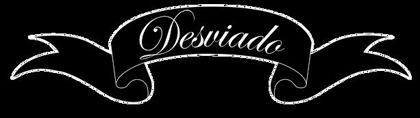 Desviado Word Logo Letters