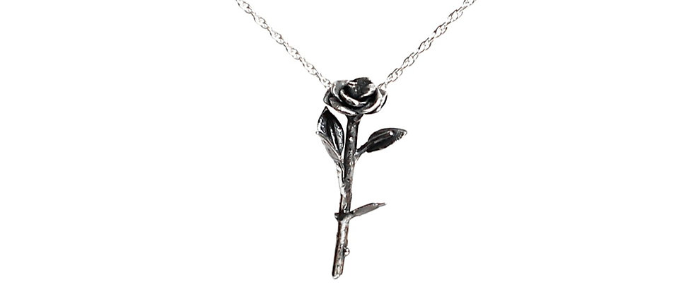 Single Rose Necklace