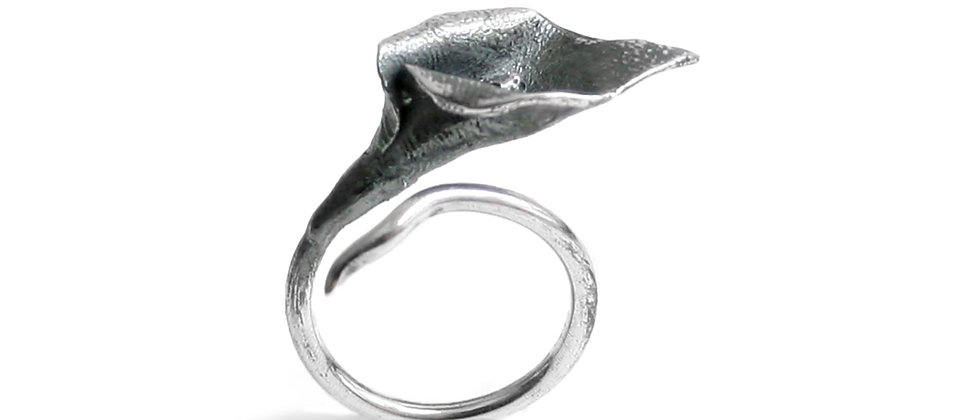 Calla Lily Ring Size 7.5