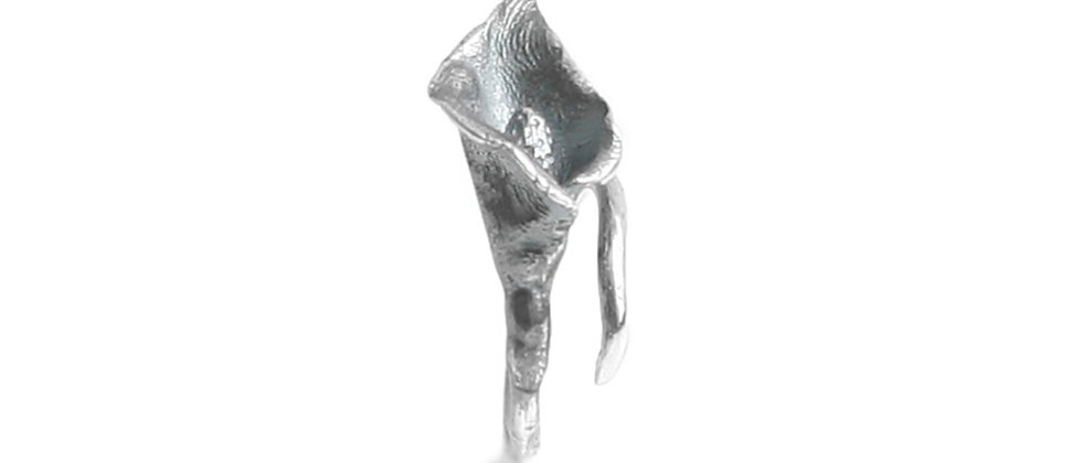 Calla Lily Ring Size 6.5