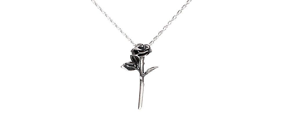Single Rose Necklace
