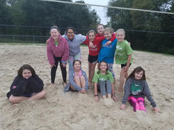 volleyball sand