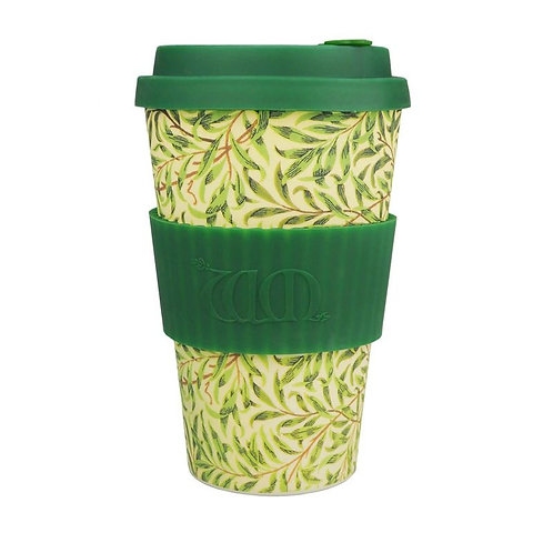 Ecoffee Bamboo Cup with Lid Willow