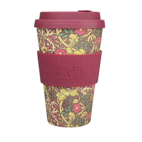 Ecoffee Bamboo Cup with Lid Seaweed
