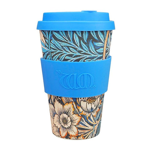 Ecoffee Bamboo Cup with Lid Lily