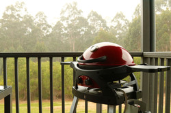 BBQ on your private balcony