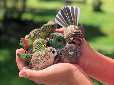 Animals friends  in your palm