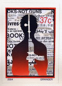 Timbre ONU Books not guns