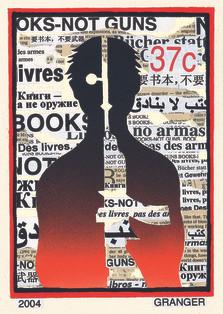 Timbre, Books not guns