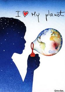 Postcard Unesco