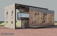 Kiosques pour la ville de Roanne