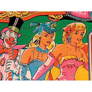 BAND WAGON: Showgirls Wear Candy