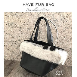 【 Pave fur bag by &R 】__andr_863 ._&R バッ