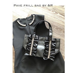 【 Pave frill bag by &R 】__andr_863 ._とって