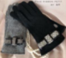 【Pave ribbon petit glove 】_スマホ対応グローブに💕_