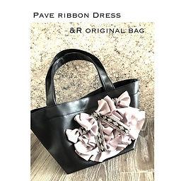 【 Pave ribbon Dress 】__andr_863 ._&R ori
