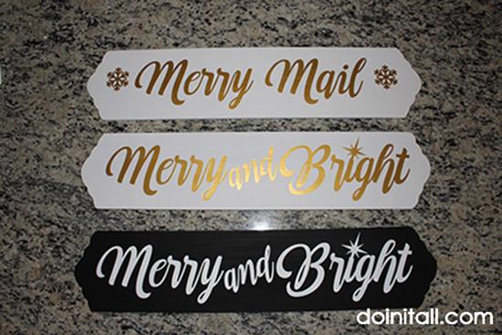 Christmas Cards Hanger - Doin' It All blog
