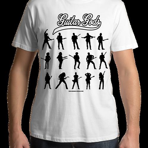 Guitar Gods (White T-Shirt)