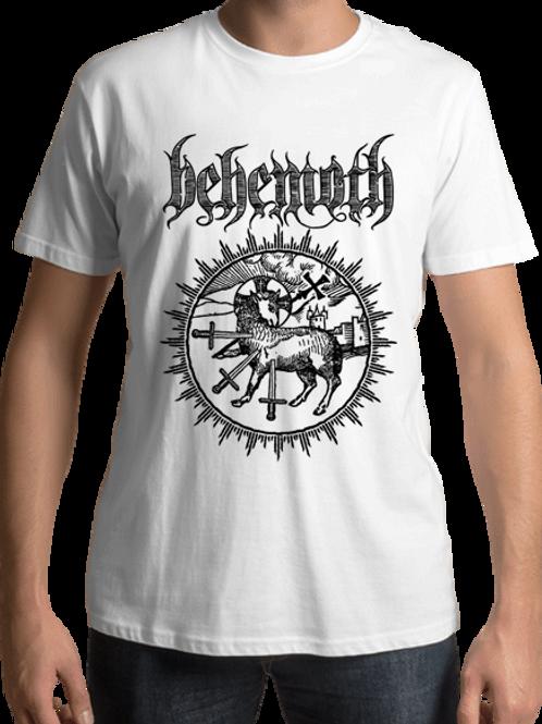 Behemoth - Lamb Sigil (White T-Shirt)