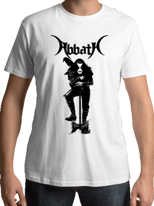 Abbath - Guardian (White T-shirt)