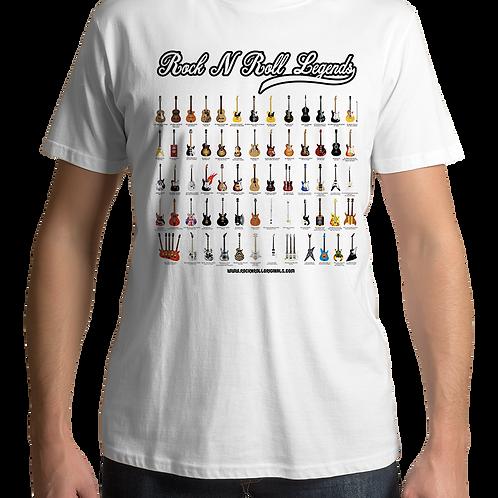 Rock 'N Roll Legends (White T-Shirt)
