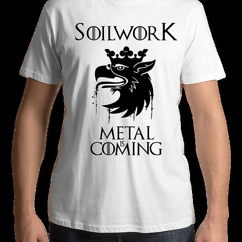 Soilwork - Metal Is Coming (White T-Shirt)