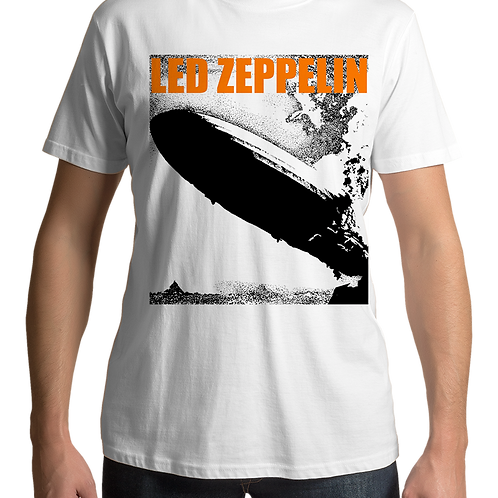 Led Zeppelin - I (White T-Shirt)