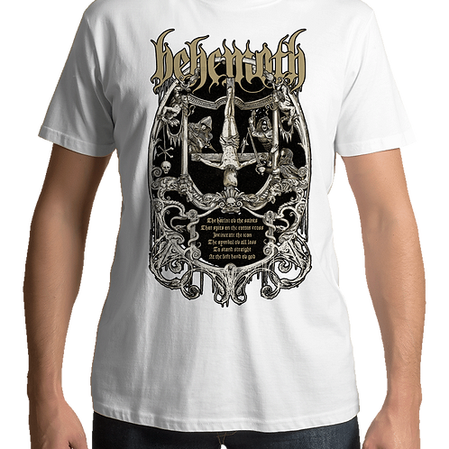 Behemoth - Harlot (White T-Shirt)