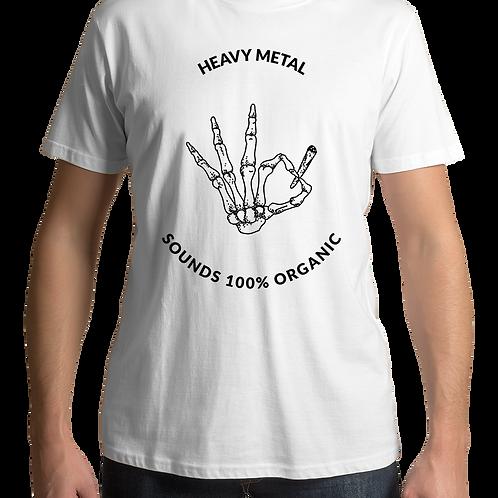 Heavy Metal (White T-Shirt)