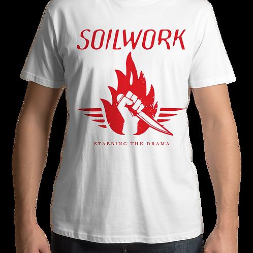 Soilwork - Stabbing The Drama (White T-shirt)