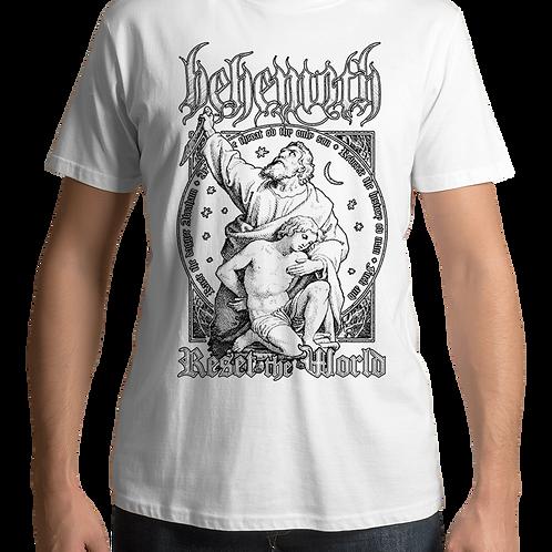 Behemoth - Reset The World (White T-Shirt)