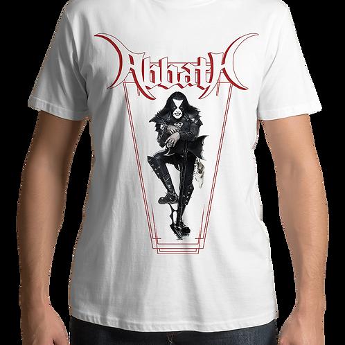 Abbath - Axe (White T-shirt)