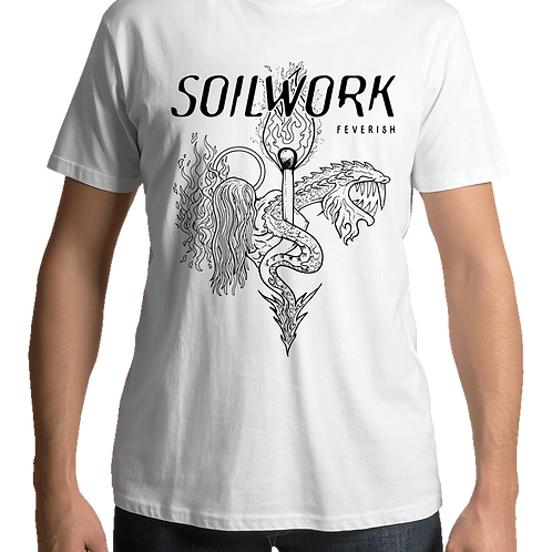 Soilwork - Feverish (White T-shirt)
