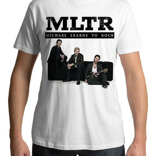 Michael Learns To Rock - Group 2 (White T-Shirt)