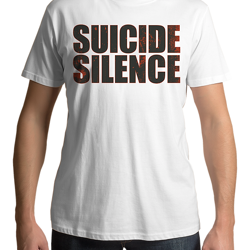 Suicide Silence - Dirty Eye (White T-shirt)