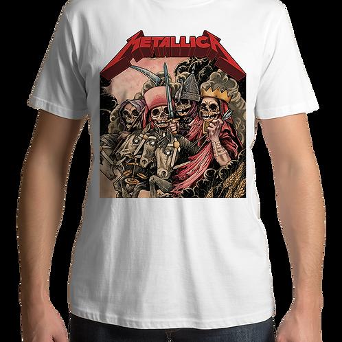 Metallica - Four Horsemen (White T-Shirt)