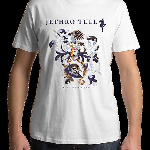 Jethro Tull - Crest Of A Knave (White T-Shirt)
