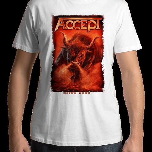 Accept - Blind Rage (White T-shirt)