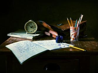 Entre las horas y la tinta