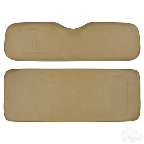 Replacement Cushion Set Universal Board for Rear Seat Kit, Tan