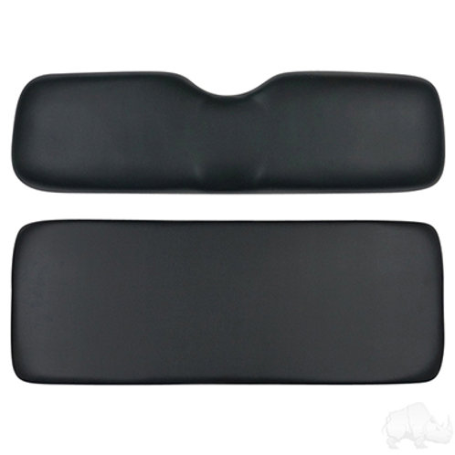Replacement Cushion Set Universal Board for Rear Seat Kit, Black