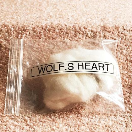 Wolf's Heart (Corazon De Lobo) Charm Amulet