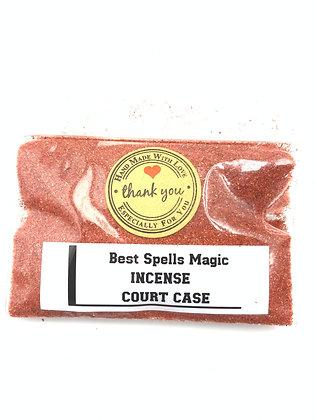 COURT CASE Powder Incense