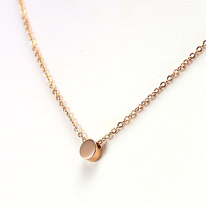 ALONA Little Golden Bean 18KYGP Necklace
