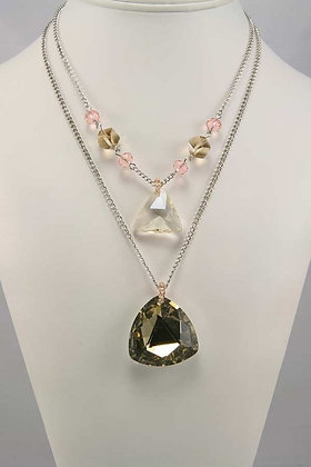 """Edena"" Two Layered Necklace"