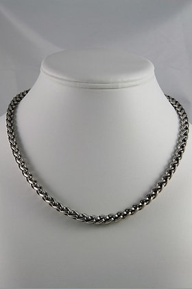 "ETERNA Silver Tone 18""L Chain Necklace"