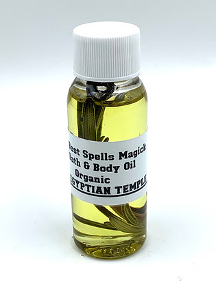 EGYPTIAN TEMPLE Organic Purification Bath & Body Oil
