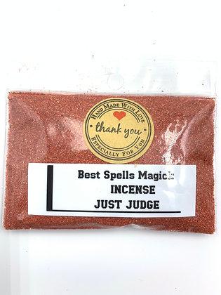 JUST JUDGE Powder Incense