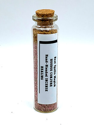 HEALING Hoodoo Conjure Incense Old Tradition Hand Blended